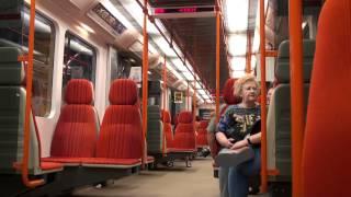 U-Bahn (Metro) Impressionen aus Prag , Mai 2012 (Underground impressions of Prague) Praha