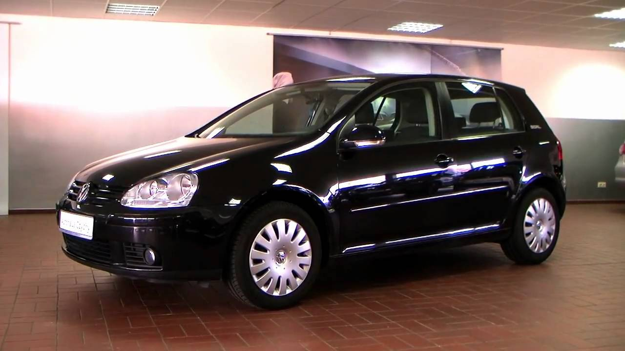 volkswagen golf v 1 4 goal 2006 black magic perleffekt. Black Bedroom Furniture Sets. Home Design Ideas
