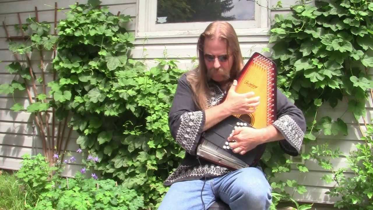 hotel california eagles on electric autoharp instrumental cover music