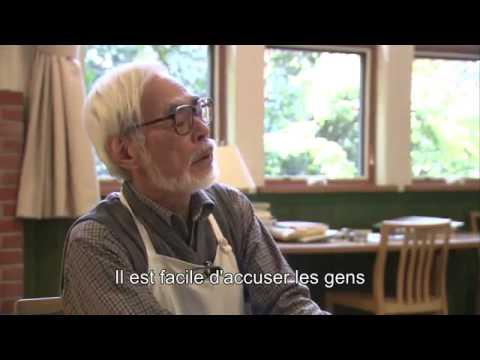 Deeper Hayao Miyazaki interview about The wind rises [eng sub]