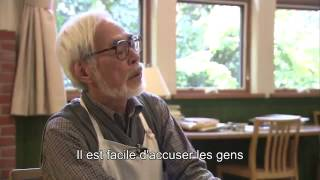 Deeper Hayao Miyazaki interview about The wind rises [eng sub]