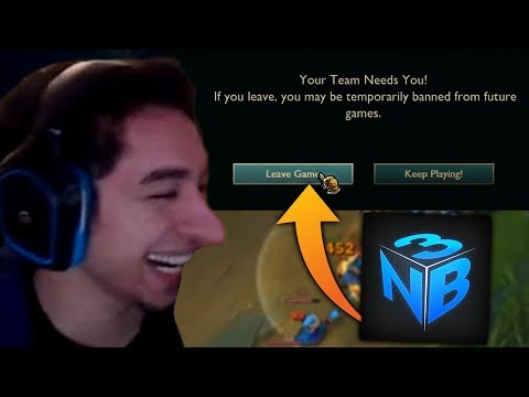 NIGHTBLUE3 RAGEQUIT I TYLER1 MUTED FOR 10 YEARS?