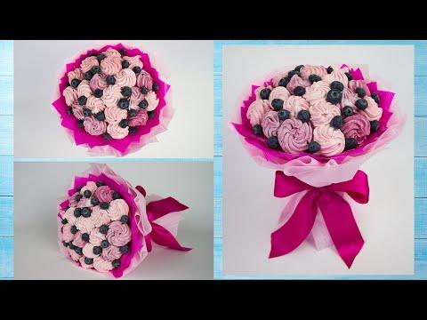 Как легко сделать букет из зефира ☆ Сладкий букет подарок своими руками ☆ Подарки DIY Buket7ruTV