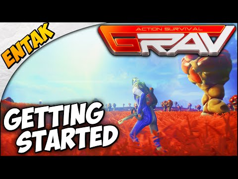 GRAV Gameplay ➤ First Impressions, Getting Started, Exploration, & Survival