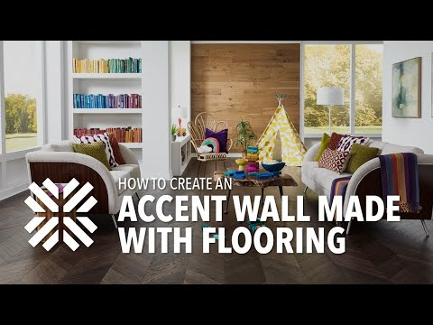 how-to-create-a-laminate-flooring-accent-wall!