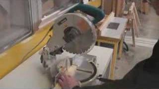 Using A Drop Saw - Timber