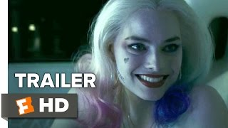 Suicide Squad Comic-Con TRAILER (2015) - Margot Robbie, Jared Leto Movie HD