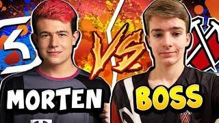 MORTEN vs BOSS! PRO vs PRO Bo5! - CLASH ROYALE
