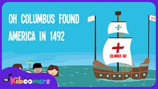 Columbus Day for Kids | Columbus Day Song Lyrics for Kids | Christopher Columbus Song