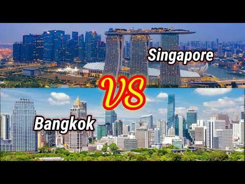 Bangkok 🇹🇭 vs Singapore 🇸🇬 || Capital City