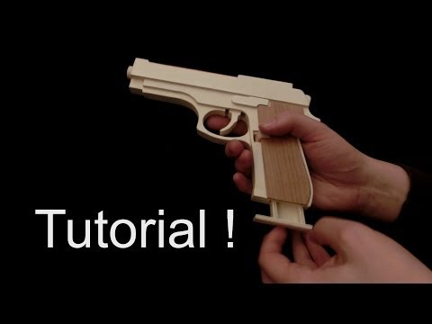 how to make a rubber shooter
