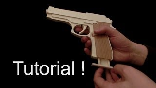 Tutorial! M9 [rubber band gun]