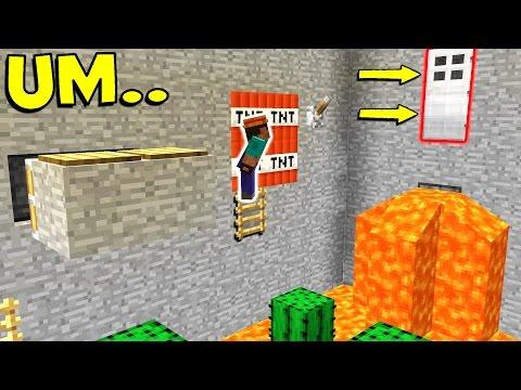 1,000 WAYS TO DIE IN MINECRAFT... (Minecraft Trolling)