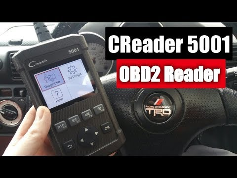 Launch CReader 5001 OBD2 Review