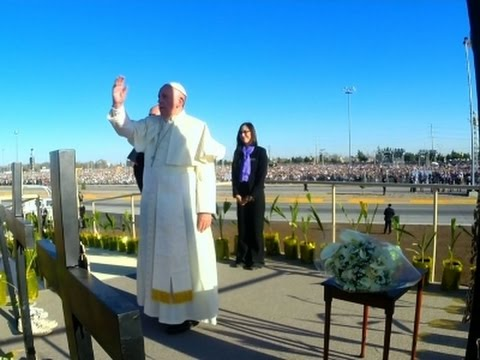 Pope's Visit to Juarez Felt Across Border in US