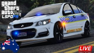 GTA 5 Police Roleplay - LSPDFR Australia - VICPOL Half Marked VFSS Patrol