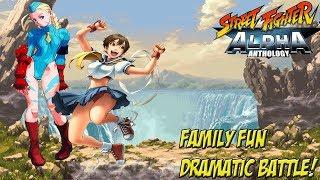 Street Fighter Alpha Anthology: Alpha 2 Gold! Family Fun Dramatic Battle! - YoVideogames