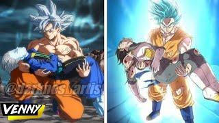 TOP 7: Veces que Goku Salvo a los Dioses
