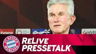 LIVE 🔴 | FC Bayern-Pressetalk mit Jupp Heynckes vor Köln 🇩🇪