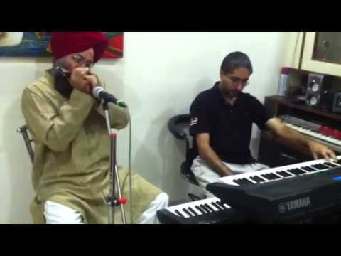 Old hindi songs on harmonica (Likhe jo khat tujhe)