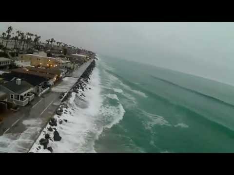Supermoon Flight in Oceanside