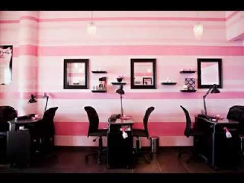 easy diy beauty salon decorations ideas youtube. Black Bedroom Furniture Sets. Home Design Ideas