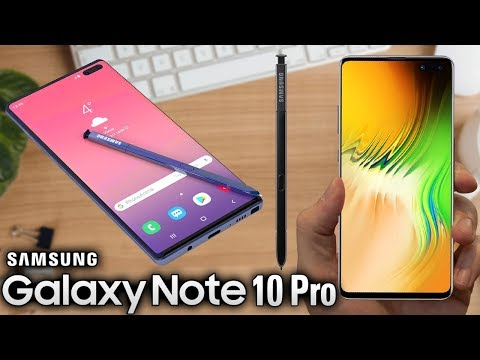 SAMSUNG GALAXY NOTE 10 PRO - This Will Be A Powerhouse!