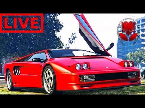 GTA 5 SHQIP Live - Pe Blejna Kerrin e Ri !! + Star Wars Battlefront  - SHQIPGaming