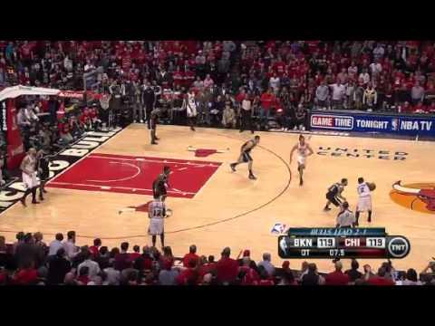 NBA Playoffs 2013: NBA Brooklyn Nets Vs  Chicago Bulls Highlights April 27, 2013 Game 4