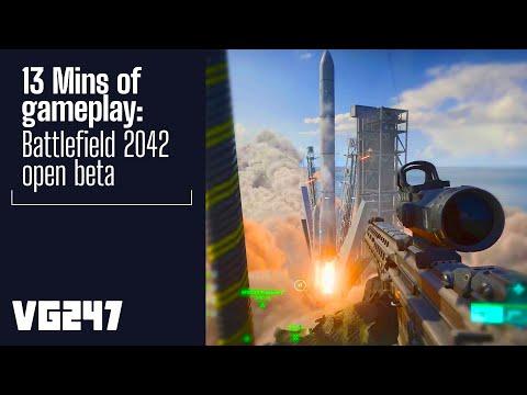 13 Minutes of Battlefield 2042 Open Beta gameplay   PC 1440p