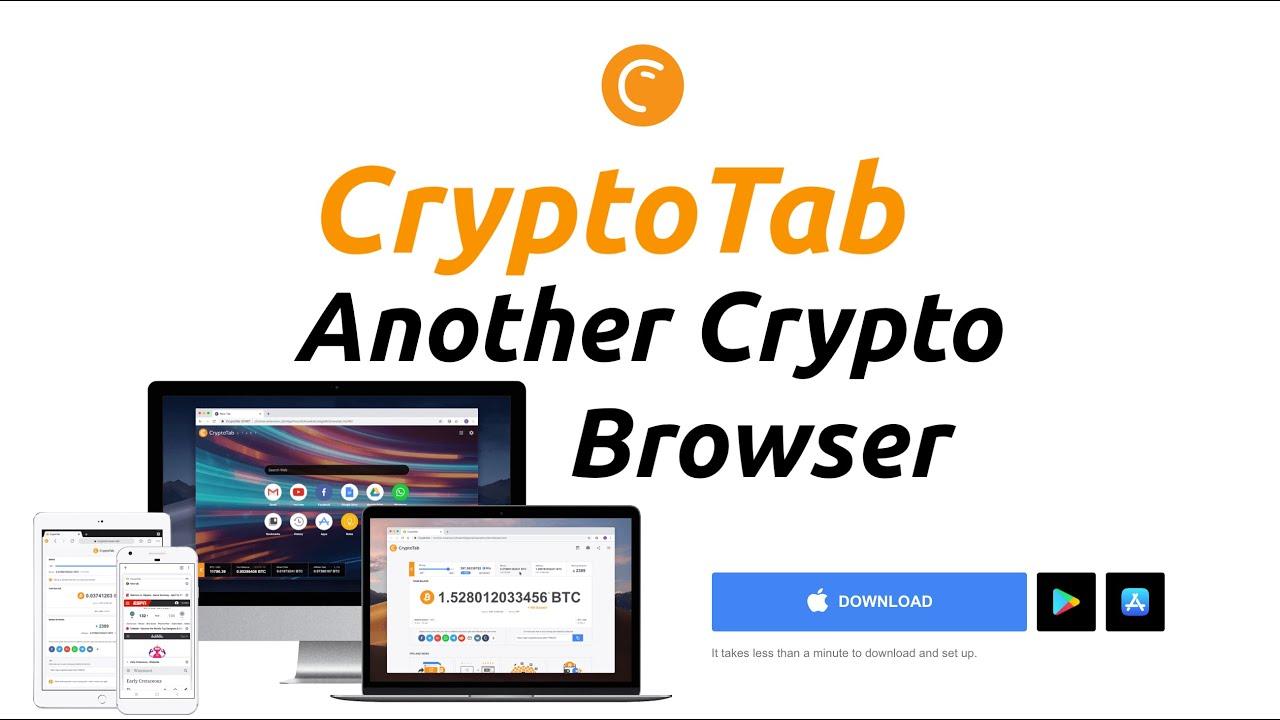 CryptoTab - A Bitcoin Mining Browser