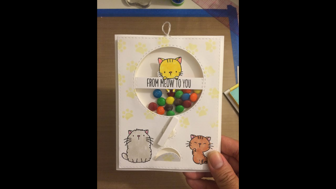 Interactive Candy Machine Shaker Card Tutorial With MFT