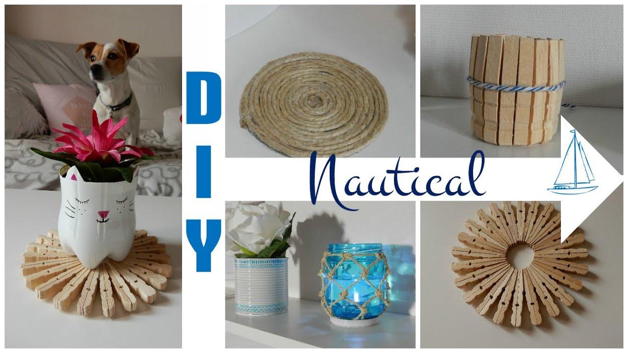 Nautical Themed Room Decor #2 / Beach Decor DIY / Déco à