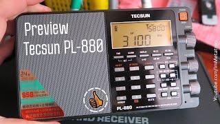 Tecsun PL-880 Preview - Обзор из коробки