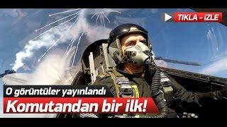 Hava Kuvvetleri Komutanı Akın Öztürk, Solotürk kokpitinde bir ilk!