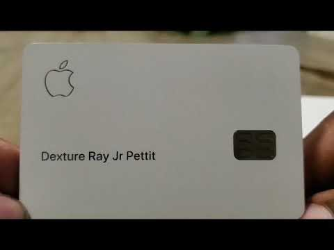 NEW FOR 2020: Apple Credit Card unboxing and review - YouTube