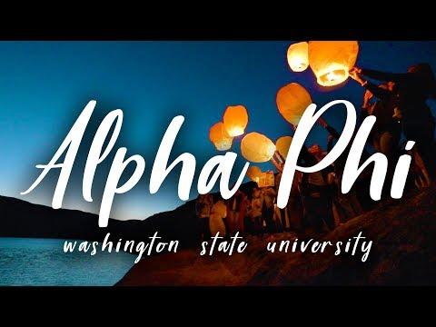 Alpha Phi // Washington State University 2018