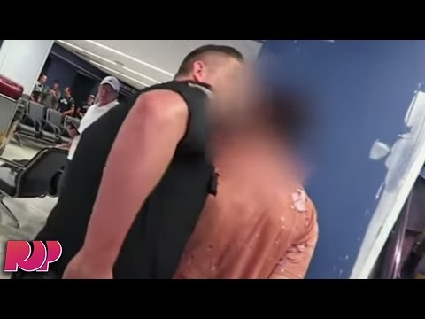 Fousey Busts Millionaire Trying To Steal Alex Wassabi's Camera At Airport