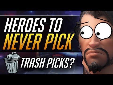 WORST HEROES by Winrate - Grandmaster Meta Tips | Overwatch Guide thumbnail