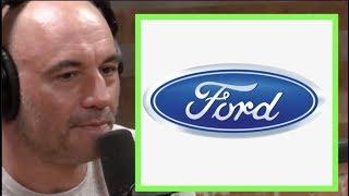 Joe Rogan Reacts to the Ford Logo Mandela Effect