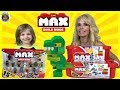 NEW ZURU MAX Construction Brick Brand Building Blocks Blox Set Walmart Exclusive