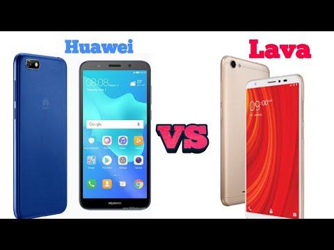 Speed test Huawei Y5 prime (2018)VS Lava Z61 ( 2Gb)/ Lava Iris 88 لاڤا اريس  #speedtest #huawei #lava