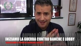 PRINCIPIO DI NON COLPEVOLEZZA TOGLIAMO IL POTERE ALLE LOBBY