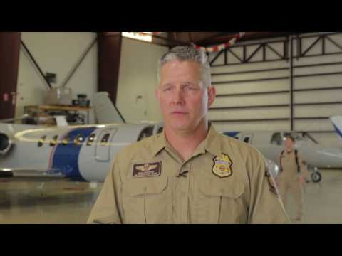 B-Roll and Interviews with Air and Marine Operations personnel discussing Super Bowl LI