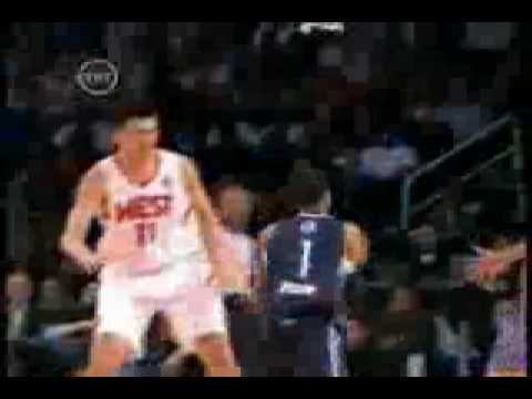 Allen Iverson Fake Yao Ming in 2009 NBA All-Star Game