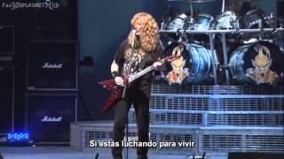 Megadeth - Ashes in Your Mouth [Live San Diego 2008 HD] (Subtitulos Español)