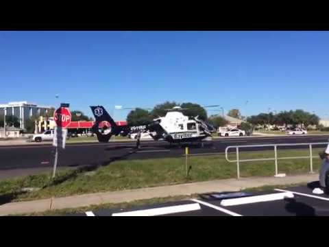 Just in case you were wondering why US 19 is closed down in Tarpon Springs today. #morganhollywoo...