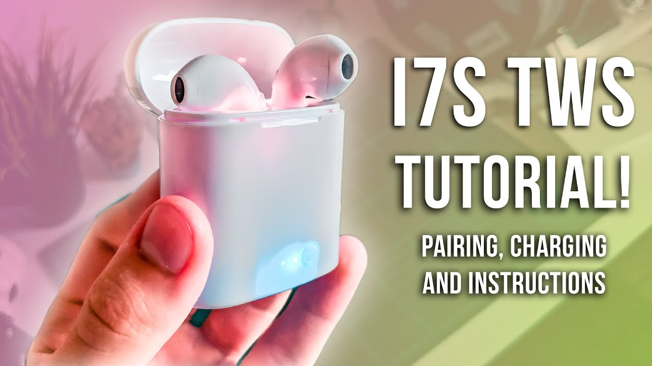 i7S TWS Charging and Pairing instructions! How to pair i7s TWS Earbuds