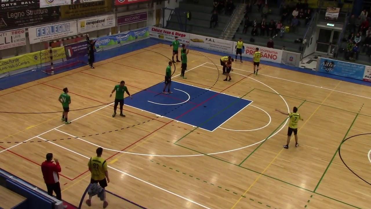 Serie A1M [Play-Off 3^]: Pressano-Conversano 25-24