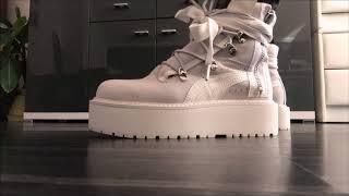 Fenty x Puma by Rihanna sneaker boots - ON FEET